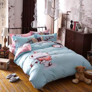 Cute Bear Bedding Set Queen Size