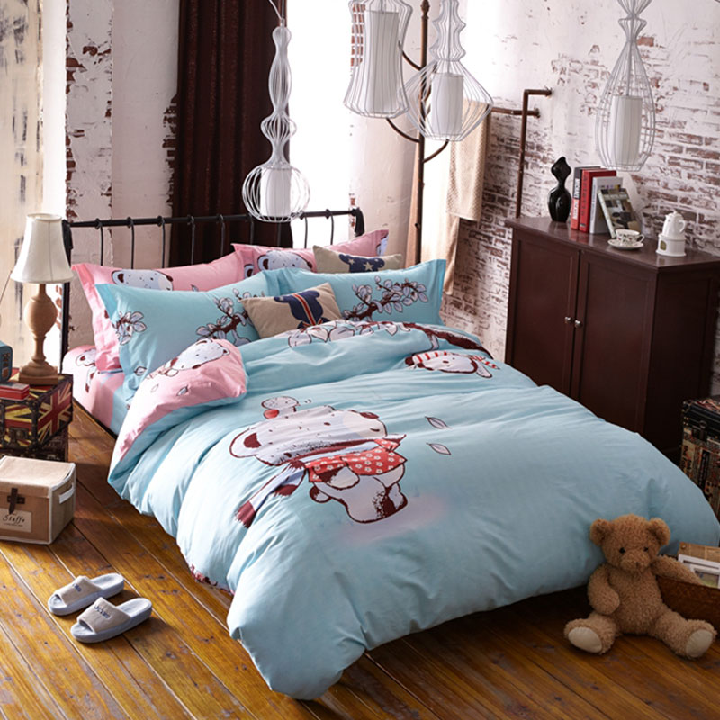 Cute Bear Bedding Set Queen Size Ebeddingsets