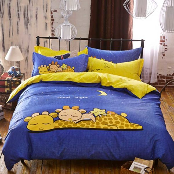 Good Night Bedding Set 1 600x600 - Good Night Bedding Set Queen Size