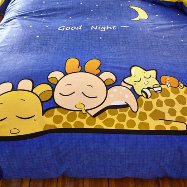 Good Night Bedding Set 4 600x600 - Good Night Bedding Set Queen Size