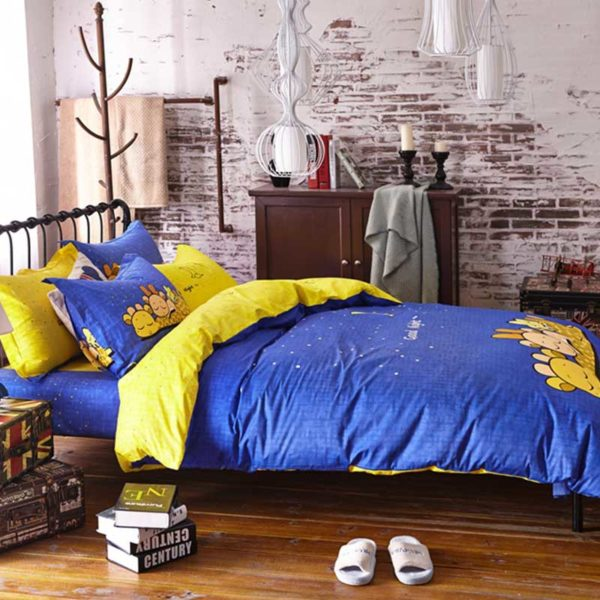 Good Night Bedding Set 5 600x600 - Good Night Bedding Set Queen Size