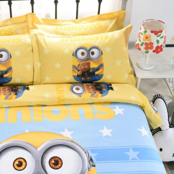 Minion Queen Size Bedding Set 2 600x600 - Minion Queen Size Bedding Set