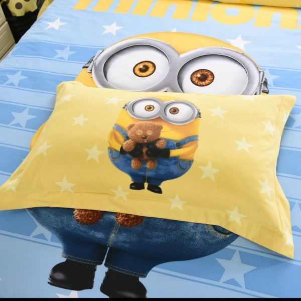 Minion Queen Size Bedding Set 5 600x600 - Minion Queen Size Bedding Set