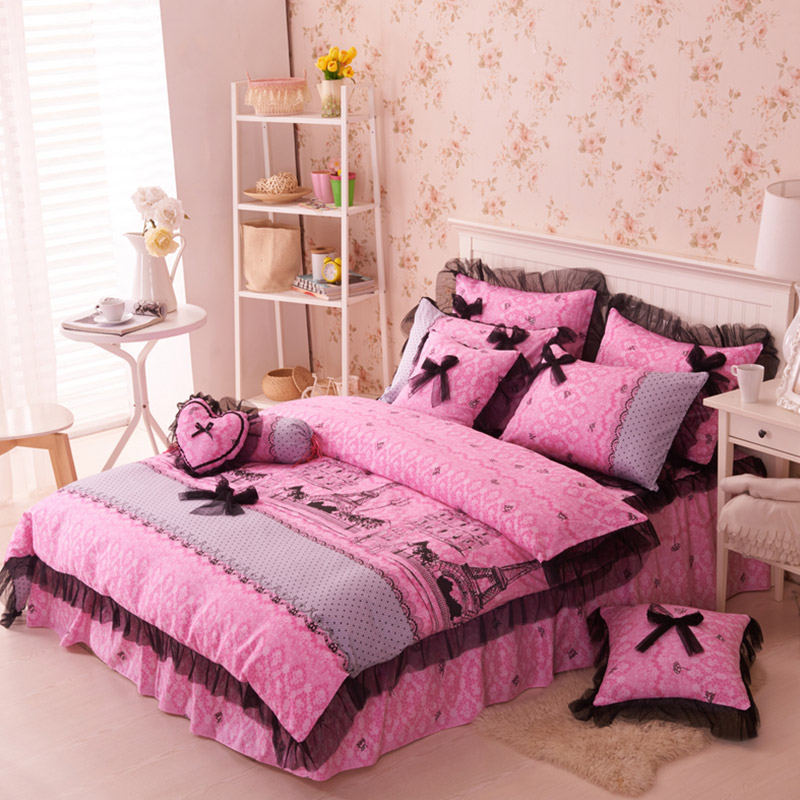 Paris Themed Bedding Set | Buy Paris Themed Bedding Set Queen and ...