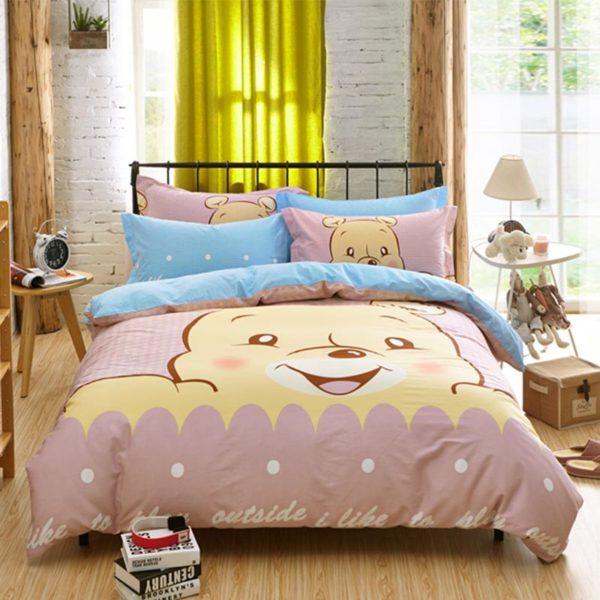 Winnie The Pooh Bedding Set 1 600x600 - Winnie The Pooh Bedding Set Queen Size