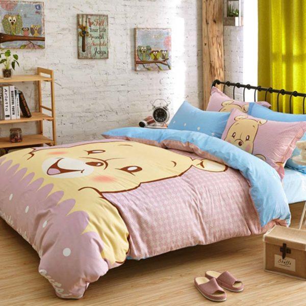 Winnie The Pooh Bedding Set 5 600x600 - Winnie The Pooh Bedding Set Queen Size