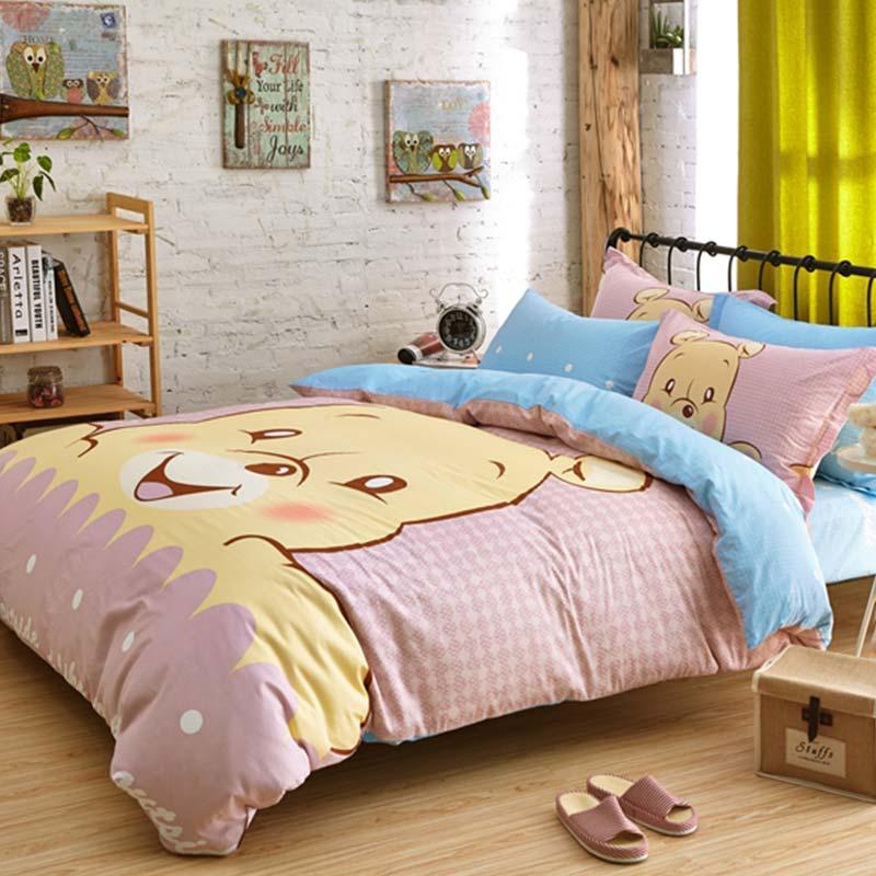 Winnie The Pooh Bedding Set Queen Size