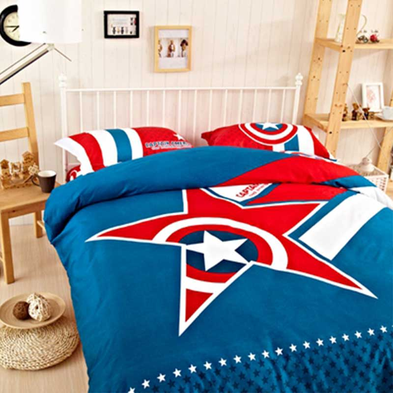 Captain America Bed Set Ebeddingsets