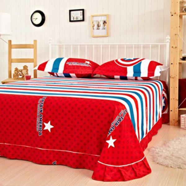 captain america bed 4 600x600 - captain america bed set