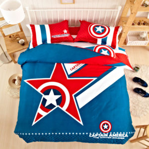captain america bed set