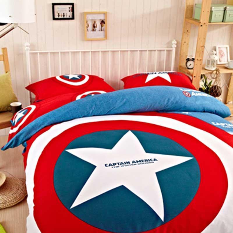 Captain America Bedding Set Ebeddingsets