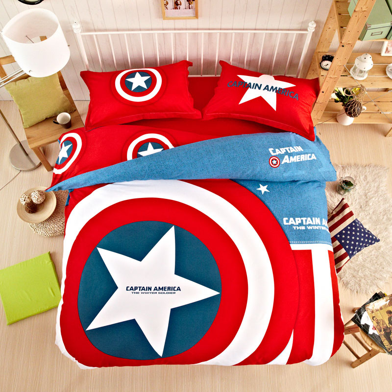 captain america bedding set