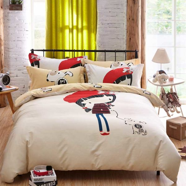 little cute girl bedding set queen size 2 600x600 - little cute girl bedding set queen size