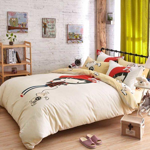 little cute girl bedding set queen size 6