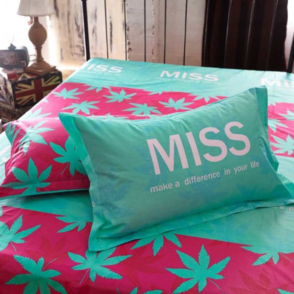 marijuana bedding 3 600x600 - miss marijuana bedding set queen size