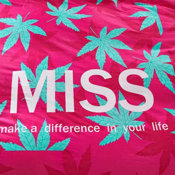marijuana bedding 4 600x600 - miss marijuana bedding set queen size