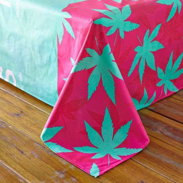 marijuana bedding 5 600x600 - miss marijuana bedding set queen size