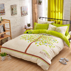 spring autumn bedding set queen size