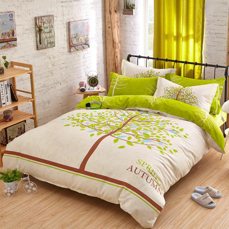 spring autumn bedding set queen size