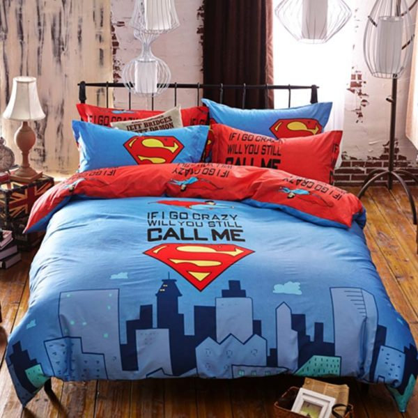 superman bedding set queen size 2 600x600 - superman bedding set queen size
