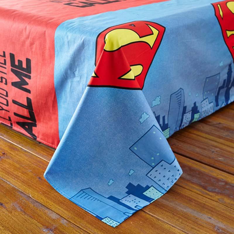 Buyer Protection: Superman Bedding Set Queen Size