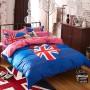 union jack bedding set queen size