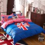 union jack bedding set queen size