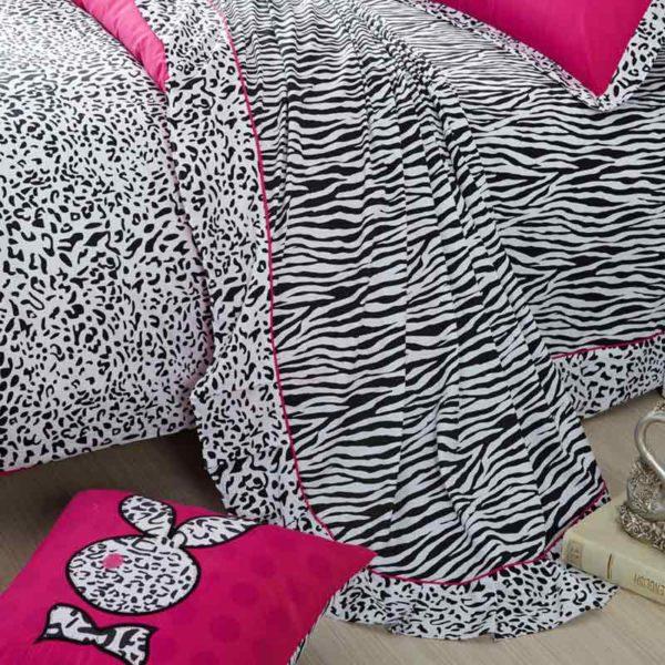 playboy leopard print bedding 4 600x600 - Playboy leopard print bedding Set