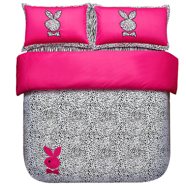 playboy leopard print bedding Set Twin Queen Size