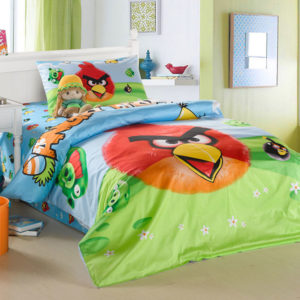 Angry birds bedding set twin size