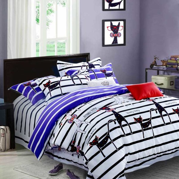 Lovely kitty Bedding Set