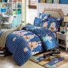 Adorable Pig Motif Cotton Bedding Set 1 100x100 - Adorable Pig Motif Cotton  Bedding Set