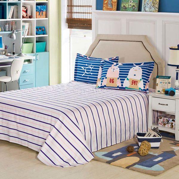 Adorable Pig Motif Cotton Bedding Set 3 600x600 - Adorable Pig Motif Cotton  Bedding Set