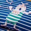 Adorable Pig Motif Cotton Bedding Set 4 100x100 - Adorable Pig Motif Cotton  Bedding Set