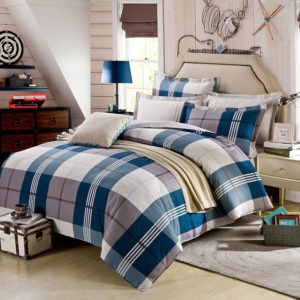 Aesthetic White And steel Grey Checks Cotton Bedding Set 1 300x300 - Aesthetic White And steel Grey Checks Cotton  Bedding Set