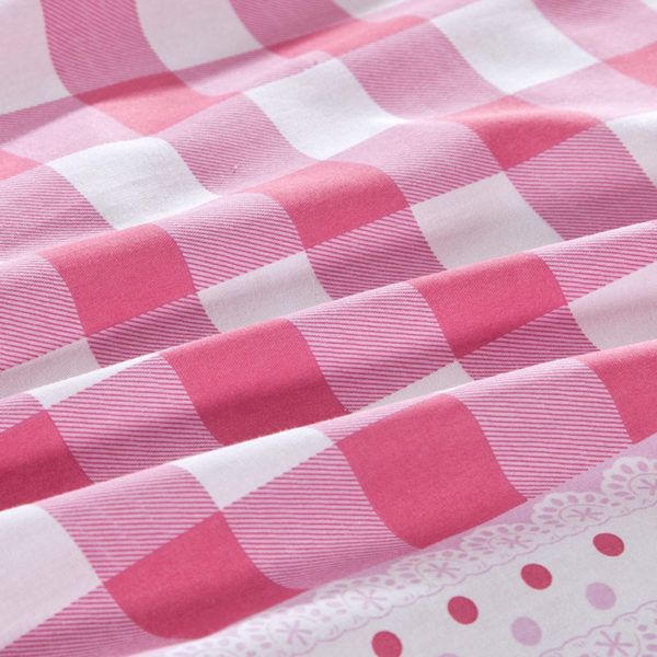 Appealing Checks And Stars Cotton Bedding Set 2 600x600 - Appealing Checks And Stars Cotton Bedding Set