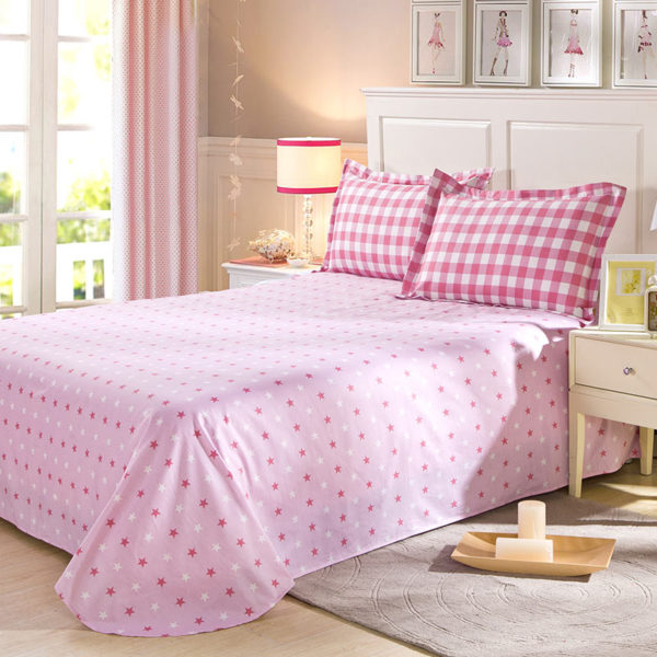 Appealing Checks And Stars Cotton Bedding Set 4 600x600 - Appealing Checks And Stars Cotton Bedding Set
