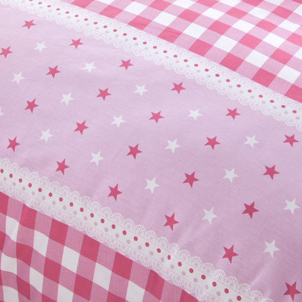 Appealing Checks And Stars Cotton Bedding Set 5 600x600 - Appealing Checks And Stars Cotton Bedding Set