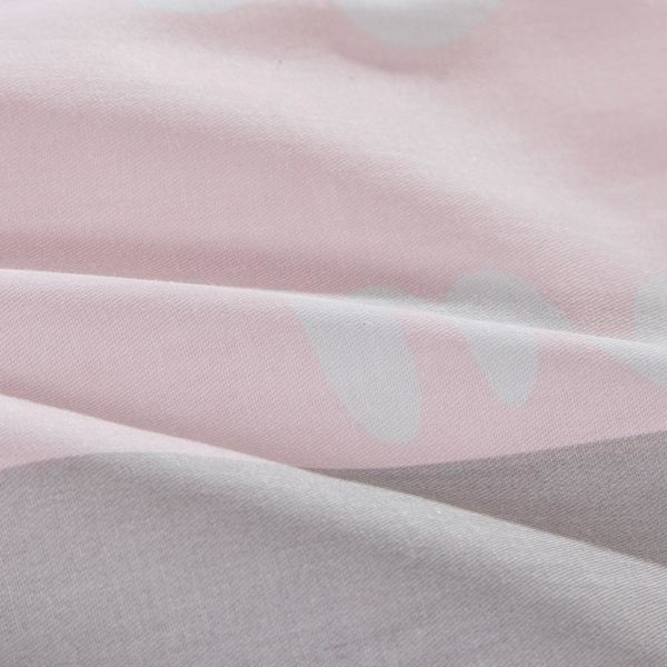 Beautiful Dull Grey And Pink Cotton Bedding Set 4 600x600 - Beautiful Dull Grey And Pink Cotton  Bedding Set