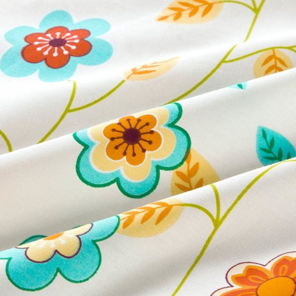 Beautiful Floral Cotton Bedding Set