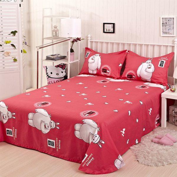 Big Hero Bed Set Twin Queen King Size 2