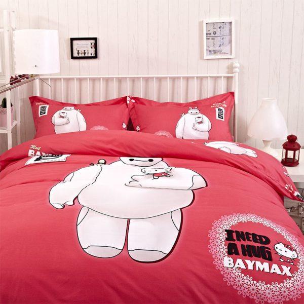 Big Hero Bed Set Twin Queen King Size 4