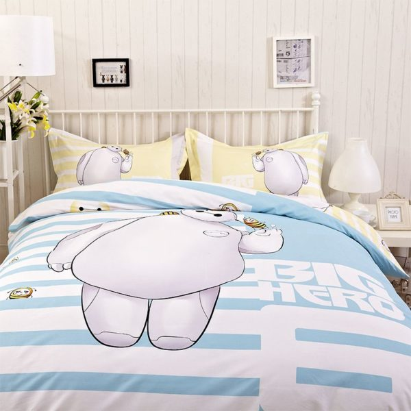 Big Hero Bedding Set Twin Queen King Size