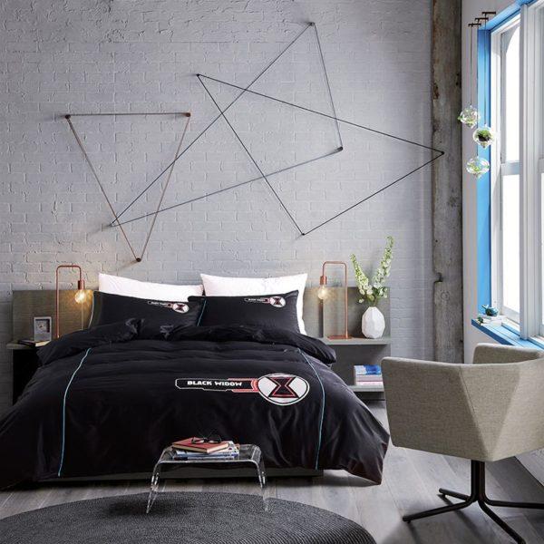 Black Widow Bedding Set Queen Size Bed Set