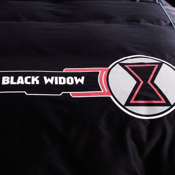 Black Widow Bedding Set Queen Size Bed Set 4