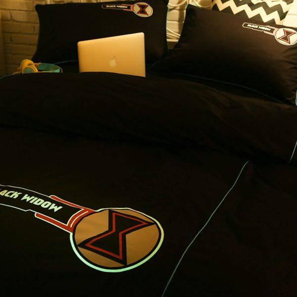 Black Widow Bedding Set Queen Size Bed Set 7