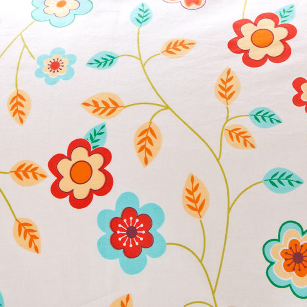 Bright and beautiful Floral Cotton Bedding Set 4
