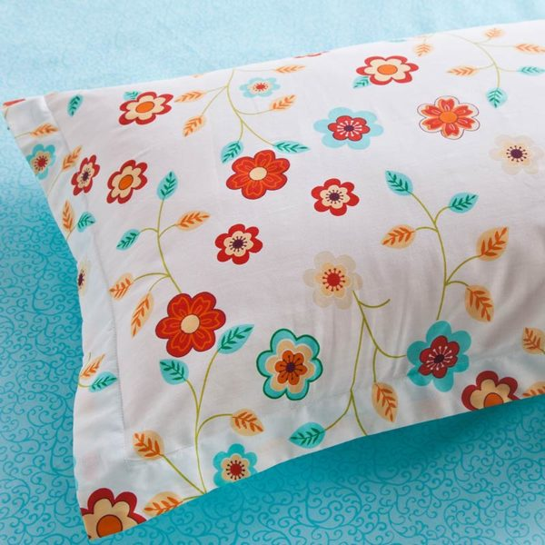 Bright and beautiful Floral Cotton Bedding Set 5