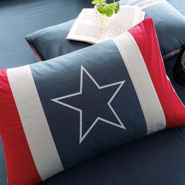 Captain America Bedding Set Queen Size For Teen Boys Bedroom Decor 5