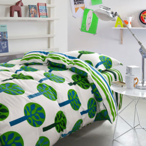Charming Blue and Green Cotton Bedding Set 300x300 - Charming Blue and Green Cotton  Bedding Set